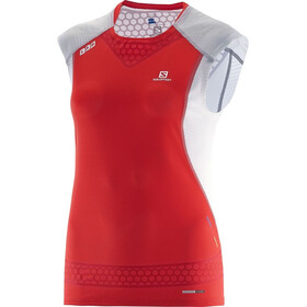 Salomon W's S-lab Exo Tank Racing Red/White